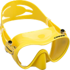 Adult size mask for Snorkeling and Diving with coloured skirt
