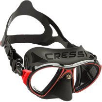 Cressi Zeus 2-lens dive mask