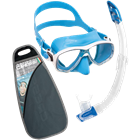 Mask and Snorkel set with Marea mask and Gamma snorkel