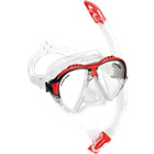 Mask and Snorkel set with Matrix mask and Gamma snorkel