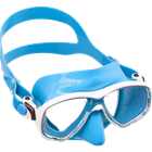 Mask for Snorkeling and Diving with coloured skirt