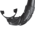 Black mouthpiece for Corsica and Mexico snorkel