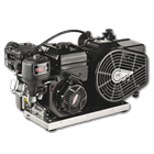 LW100 Compressor with gasoline engine