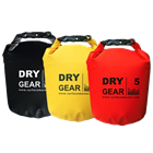 Dry bags 5, 10 and 15 liter with shoulder strap