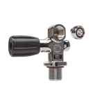 Tank valve DIN with plug
