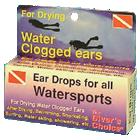 Ear drops, fluid, lubricants and glue