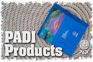 PADI Open Water Diver material