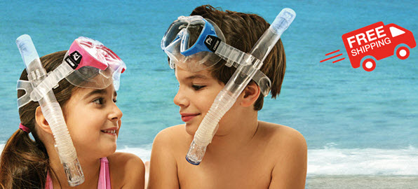 Snorkeling Set With Free Shipping