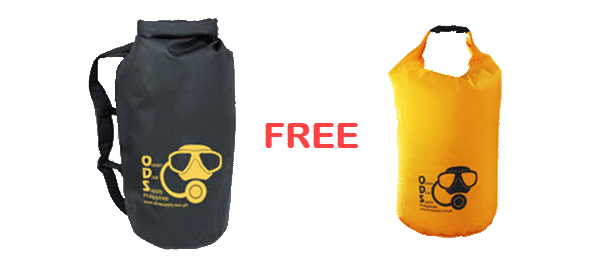 Free Drybag With Purchase Of Ods Dry Backpack