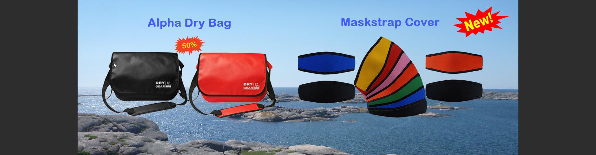 Alpha Bag and Maskstrap Cover